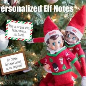 Personalized Elf Notes, Elf Printables, Elf Props, Elf Accessories, Elf Printable Tags, Elf Ideas, Elf Message, Elf Activity Kit, Elf Games