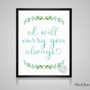 I Will Carry You Always, Babywearing Art, Crunchy Mama, Nursery Decor, Babywearing Print, Baby Wearing, Crunchy Mom, Nursery Wall Art Boy