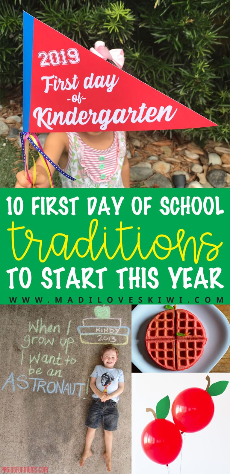 10 Ten First Day of School Traditions to Start This Year with Your Kids